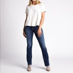 NWT Silver Jeans Avery Slim Boot Cut 29/33